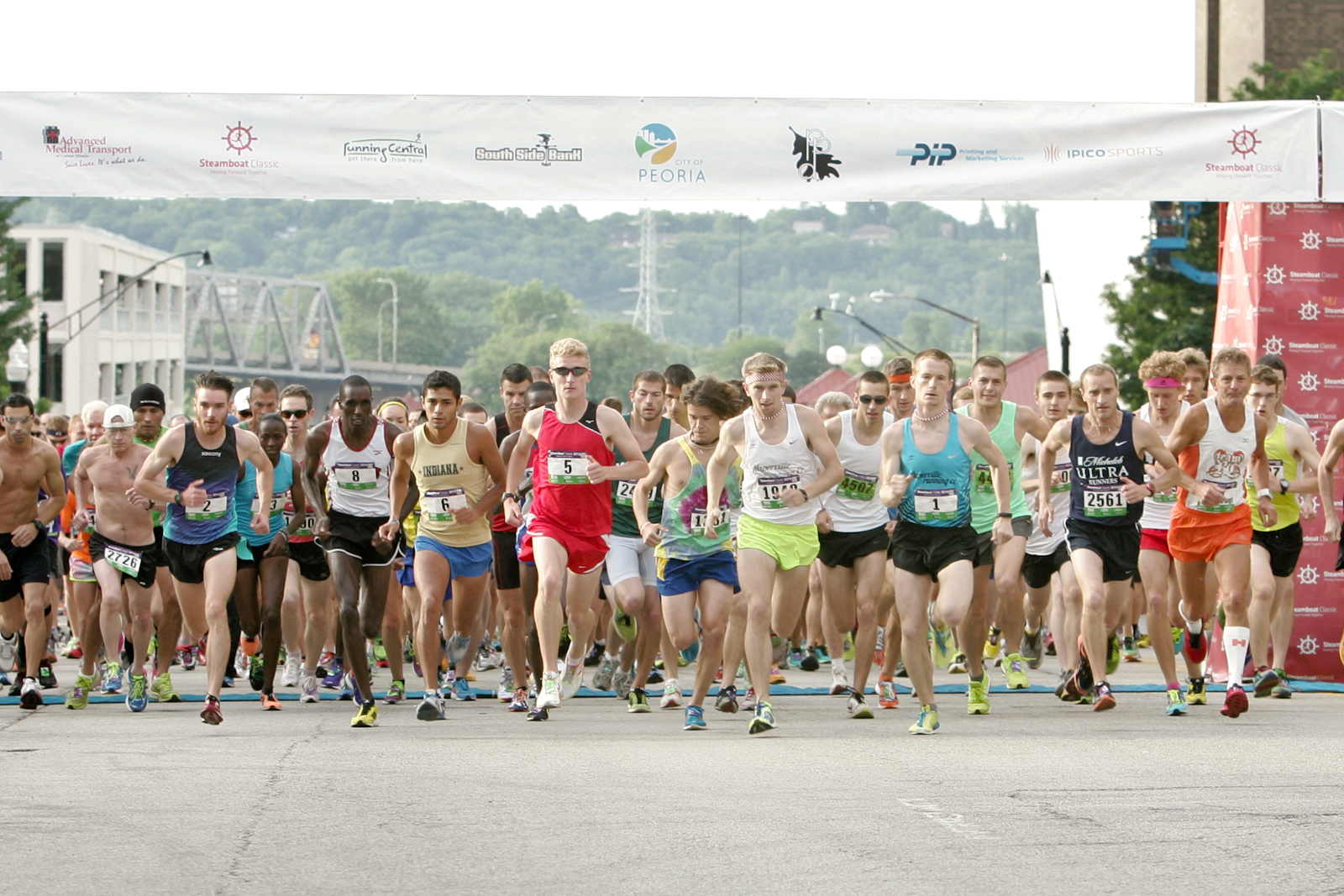 2014 Steamboat Classic Starting Line